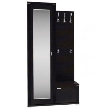 Шкаф с зеркалом и вешалкой L MONTE Анрэкс
